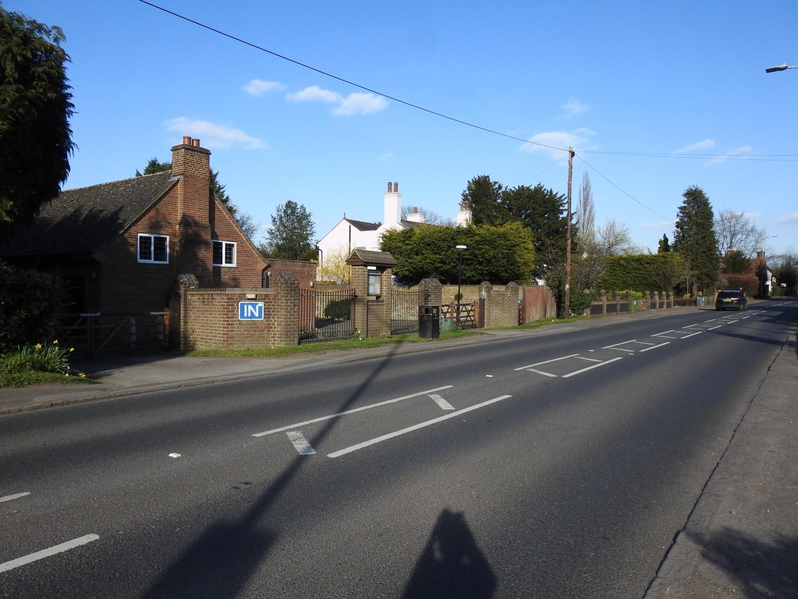 Village Hall Entrance