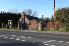 Approach to Bourne End Village Hall